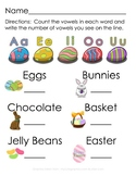 Easter Vowel Counting