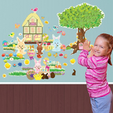 Interactive Easter Wall Play Set