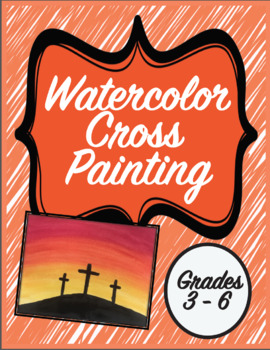 Watercolor Cross Painting