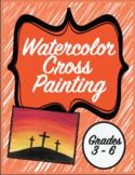 Watercolor Cross Painting