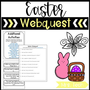 Easter Webquest