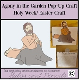 Easter Week/ Holy Week Agony in the Garden Pop-Up Craft
