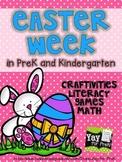 Easter Week in PreK and Kindergarten