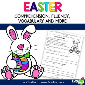 Easter Reading Comprehension and Fluency