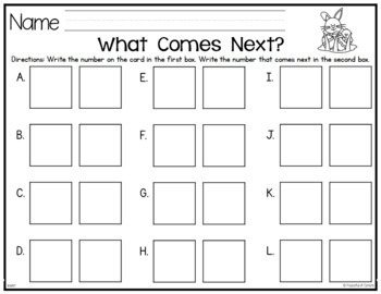 Easter:  What Comes Next? Game {FREE}