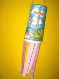 Easter Religious Windsock Craft