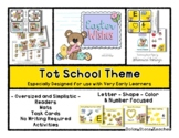Easter Wishes Theme - Grow With Me Little Bear Tot School