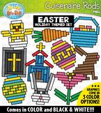 Easter Wooden Block Rods Clipart {Zip-A-Dee-Doo-Dah Designs}