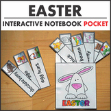 $1 Deal Easter Word Card Interactive Notebook Pocket