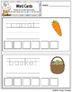Easter Word Cards