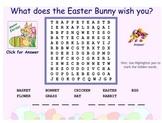Easter Word Finds SMARTBoard