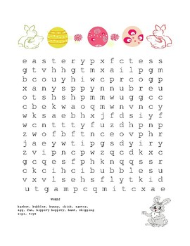 Easter Word Hunt!