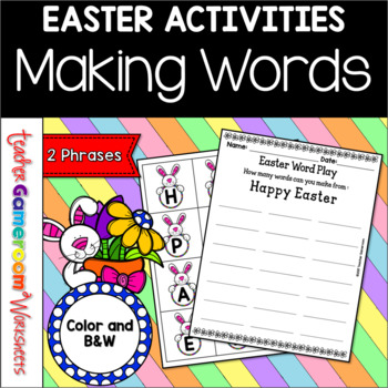 Easter Word Play - Center Activity