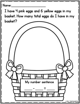 Easter Word Problem
