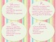 Easter Word Problem Task Cards Pack