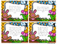 Easter Word Problem Task Cards & Game Board (K-2)