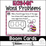 Easter Word Problems Boom Cards
