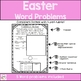 First Grade Easter Word Problems- Freebie!