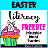 Easter Free: Easter Literacy Worksheets