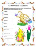 Easter  Word Scramble- 10 Words