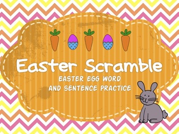 Easter Word Scrambles