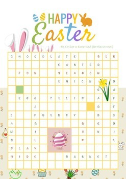 Happy Easter Word Search