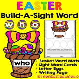 Easter Word Work - Build a Sight Word