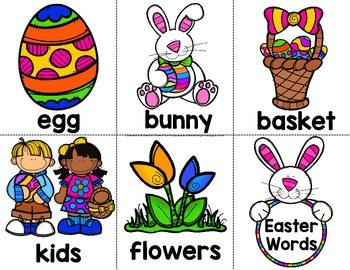 Easter Word Work Crown