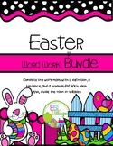 Easter Word Work