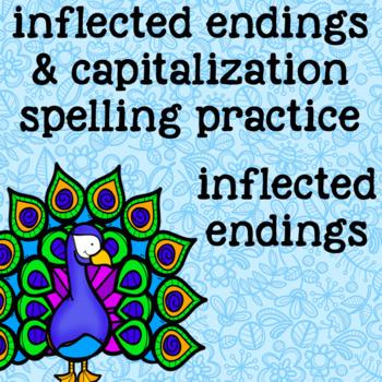 Inflected Endings - ies, es, ed, ing - Wild Animals