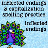 Inflected Endings - ies, es, ed, ing - Wild Animals