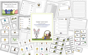 Easter Word Work and Writing