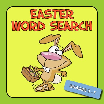 Easter Word Search - Grades 3 - 7