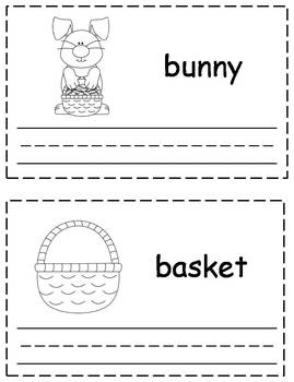 Easter Words Trace & Write Book {FREEBIE}