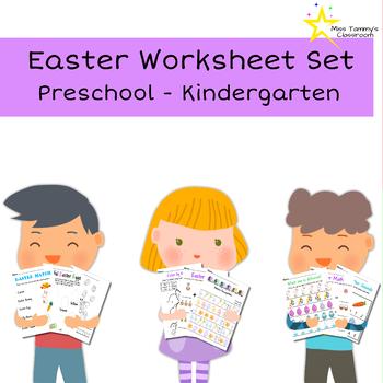Easter Worksheet 12-Pack