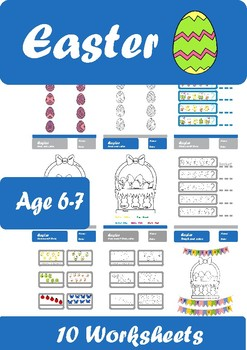 Easter Worksheets Age 6-7