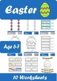 Easter Worksheets Age 6-7