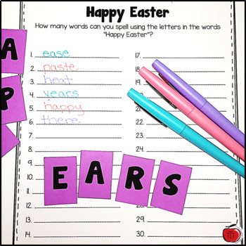 Easter Worksheets and Activities for Primary Grades