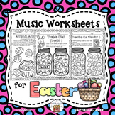 Easter Worksheets for Music