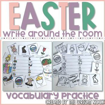 Easter Write Around the Room