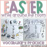 Easter Vocabulary Write Around the Room
