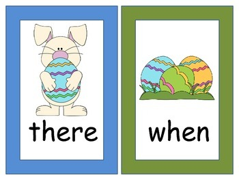 Easter Write-The-Room Activity (Goes with Kindergarten Journeys)