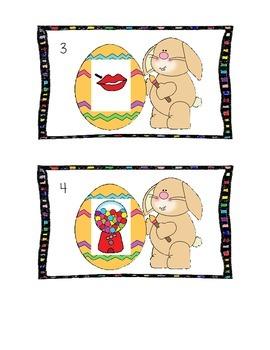 Easter Write The Room-CVC Words