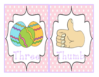 Easter Write-The-Room Th-Digraph