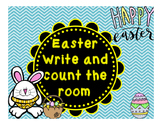 Easter Write and Count the Room