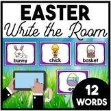 Easter Write the Room | Boom Cards Included