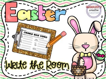 Easter Write the Room - April Edition