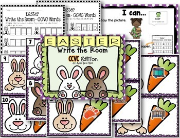 Easter Write the Room - CCVC Edition