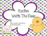 Easter Write-the-Room Fun
