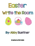 Easter Write the Room Literacy Center